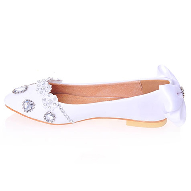 Ericdress Bowtie Square Heel Wedding Shoes