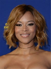 Ericdress Serayah Bob Style Wavy Mid-Length Synthetic Hair Lace Front Wigs 12 Inches