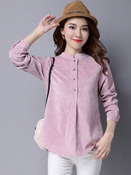 Ericdress Solid Color Loose Sweet T-Shirt