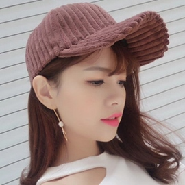 Ericdress Solid Color Stripe Design Baseball Cap