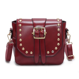 Ericdress Punk Style Rivets Decorated Shoulder Bag