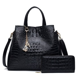 Ericdress Europe Style Croco-Embossed Handbags(2 Bags)