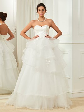 Ericdress Amazing Sweetheart Ball Gown Wedding Dress