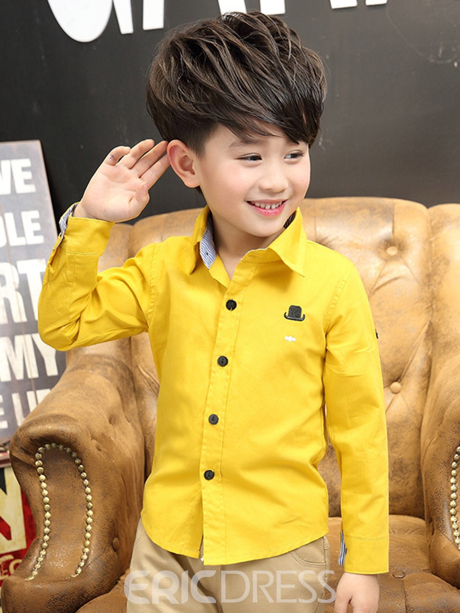 Ericdress Plain Fashion Spring Boys Shirt