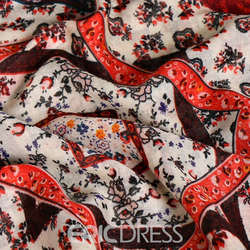 Ericdress High Quality Geometric Printing Scarf