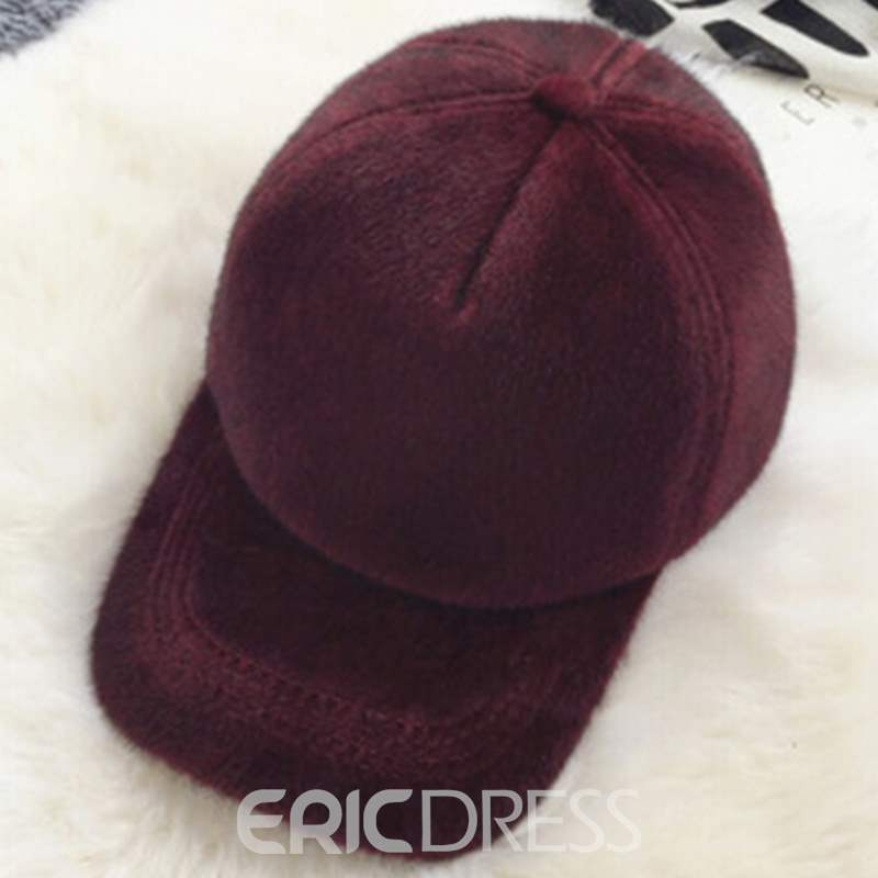 Ericdress All Match Casual Thicken Peaked Cap