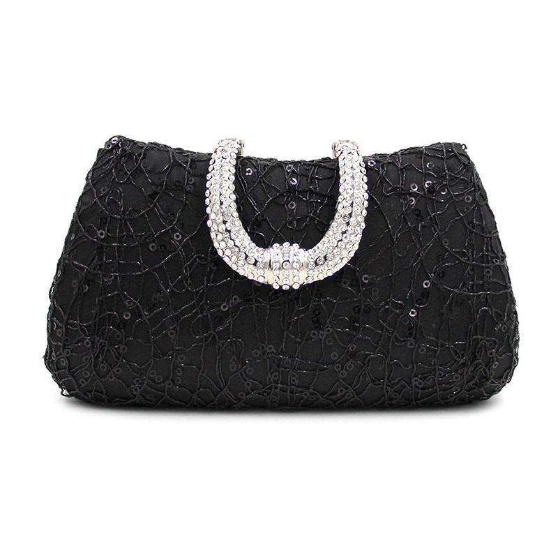 Ericdress Upscale Sequins Rhinestone Evening Clutch