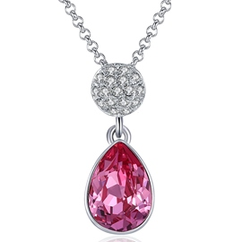 Ericdress Sparkling Ultra Violet Pendant Necklace for Women