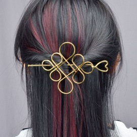 Ericdress Unique Hollow-Out Alloy Hair Accessories