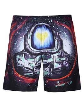 ericdress 3d Mens lose Shorts