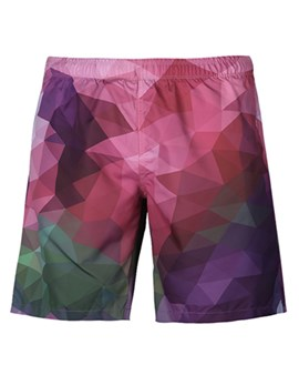 Ericdress 3D Loose Mens Beach Shorts
