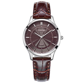 Ericdress All Match Waterproof Brown Watch