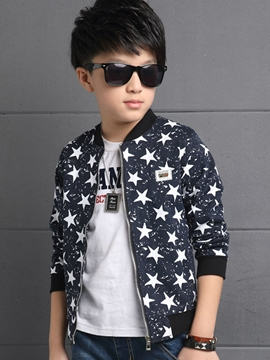 Ericdress Stars Printed Spring Boys Jacket