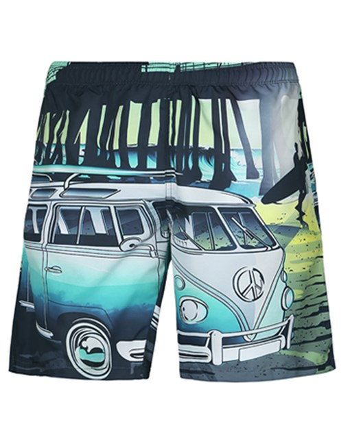 Ericdress3D Loose Mens Beach Shorts