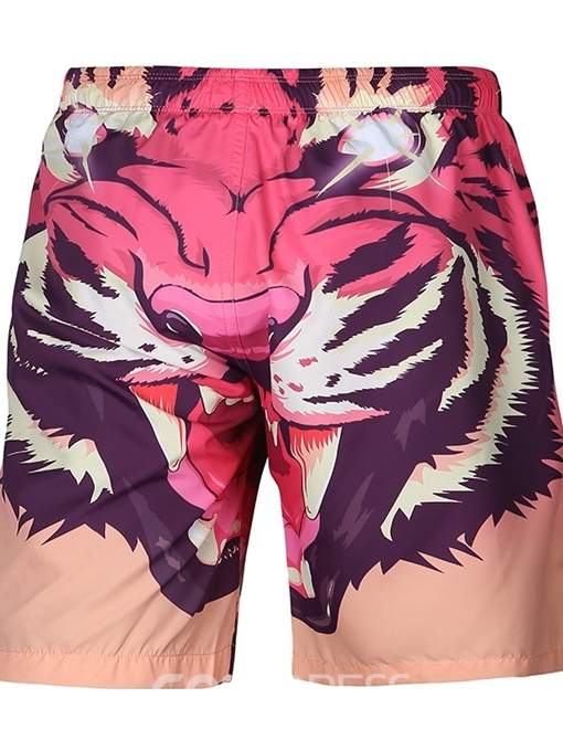 Ericdress Loose 3D Mens Beach Shorts