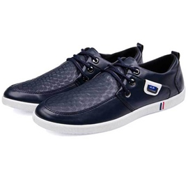 Ericdress Trendy PU Round Toe Men's Casual Shoes