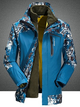Ericdress Camouflage Print Windproof Sports Casual Men's Coat