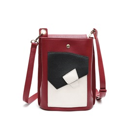 Ericdress Korean Color Block Cellphone Shoulder Bag