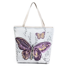 Ericdress Novelty Butterfly Embroidery Tote Bag