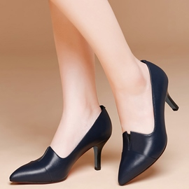 Ericdress Elegant Point Toe Low Heel Pumps