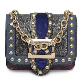 Ericdress Vogue Serpentine Belt Decorated Crossbody Bag