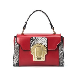 Ericdress Brief Serpentine Latch Handbag