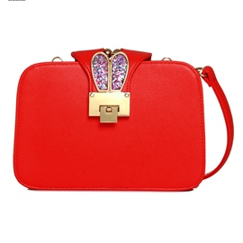 Ericdress Cute Sequins Rabbit Ear Crossbody Bag