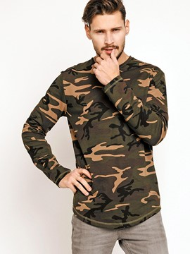 Ericdress Camouflage Pullover Casual Men's T-Shirt
