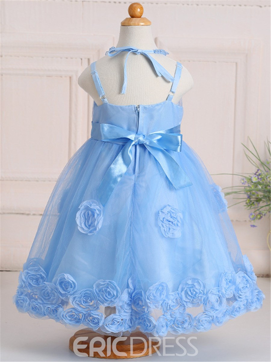 Ericdress Ball Gown Mesh Girls Dress