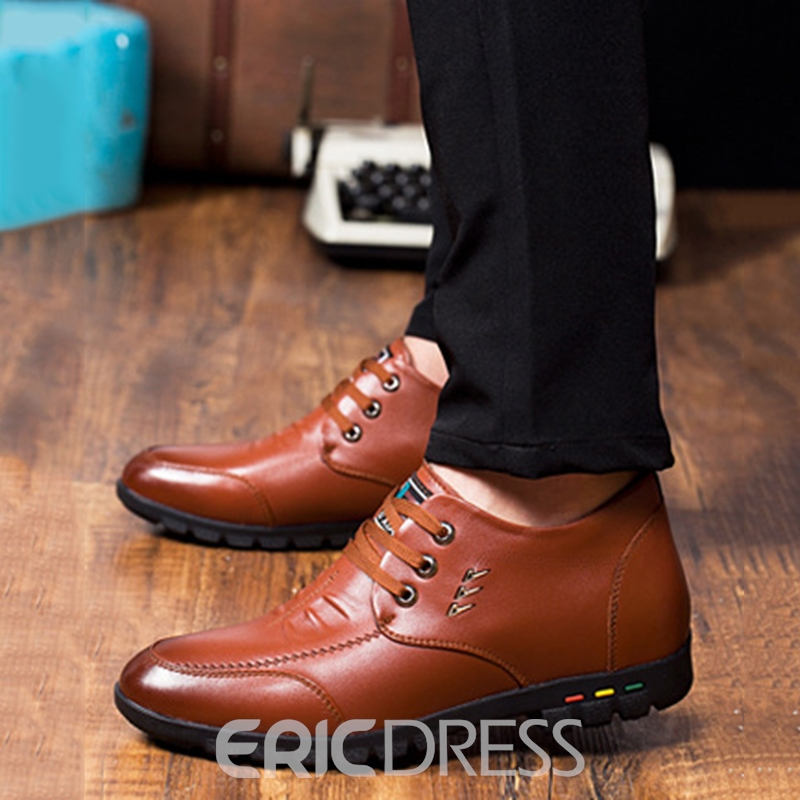 Ericdress Classic Business Brush Off Men's Oxfords