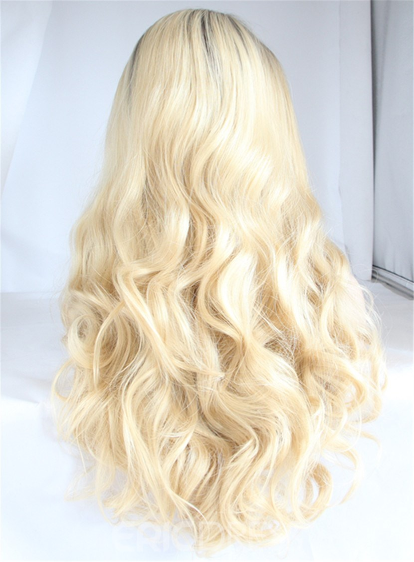 Ericdress Long Natural Wavy Hairstyle Synthetic Hair Lace Front Wig 22 Inches