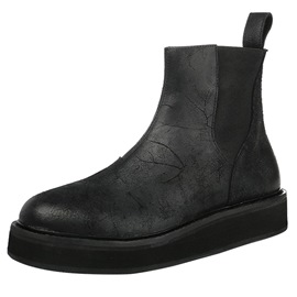 Ericdress Plain Round Toe Ankle Men's Boots