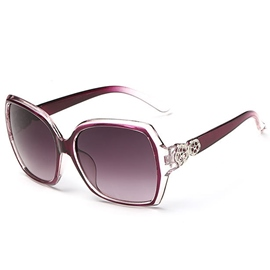 Ericdress Ultra Violet Full Frame HD Lens Sunglasses