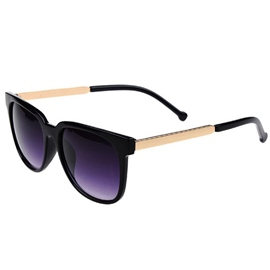 Ericdress Retro Full Metal Frame Resin Lens Sunglasses