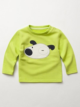 Ericdress Cartoon Appliques Long Sleeve Bay Boys T-Shirt