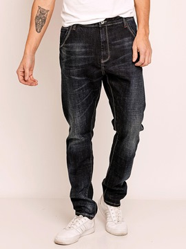 Ericdress Plain Full Length Casual Men's Jeans