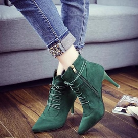 Ericdress Fashion Point Toe High Heel Boots