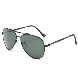 Ericdress Classic Metal Frame Polarized Sunglasses