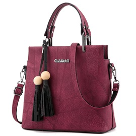 Ericdress Simple Style Thread Decorated Motorcycle Handbag