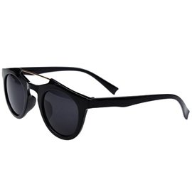 Ericdress Retro Round Polarised Anti-UV Outdoor Sunglasses