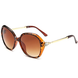 Ericdress Fashion Diamante Frame Anti UV400 Sunglasses