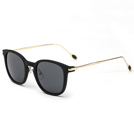 Ericdress Vintage Style Anti UV Lens Metal Frame Sunglasses