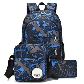 Ericdress Casual Geometric Print Men's Bags(3 Bags)