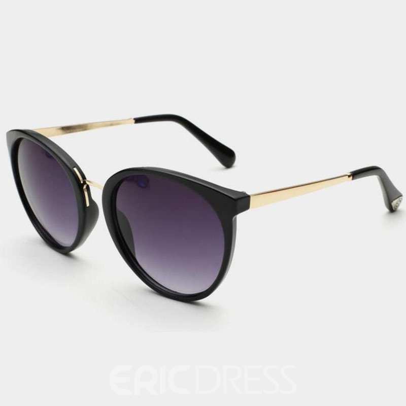 Ericdress High Quality Metal Frame All-Matched Sunglasses 12744348