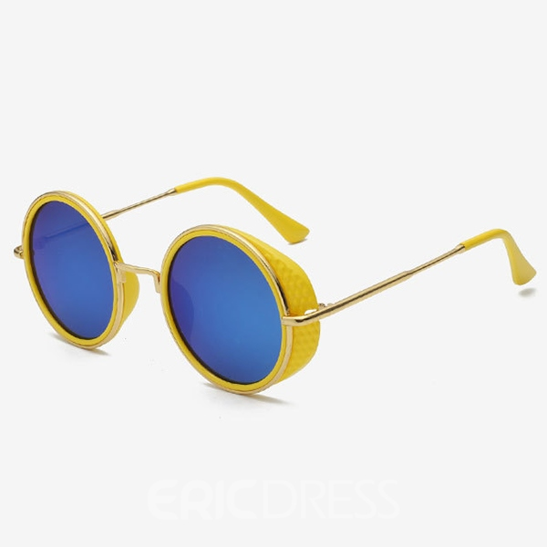 Ericdress Round Frame Color Lens Polarized Sunglasses