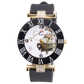 Ericdress Chinese Style Women's Diamante Watch