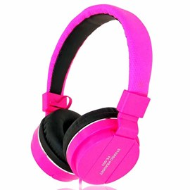 Ericdress FE003 Candy Color Portable On-ear HiFi Stereo Headphone