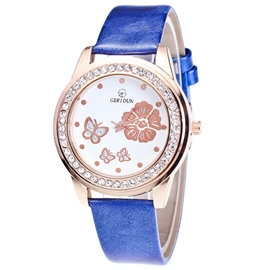 Ericdress Elegant Butterfly Printed Women's Watch