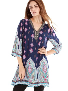 Ericdress Printed Loose T-Shirt