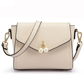 Ericdress Simple Temperament Bead Decorated Shoulder Bag